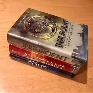 3 hardcover Divergent books!